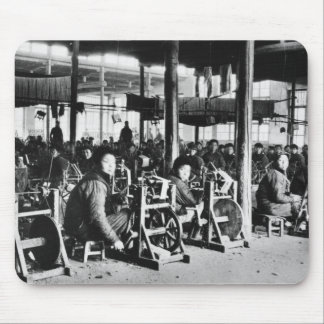 Factory run by Chinese near Chihsien, c.1930 (b/w Mouse Mat