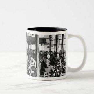 Factory run by Chinese near Chihsien, c.1930 (b/w Two-Tone Coffee Mug