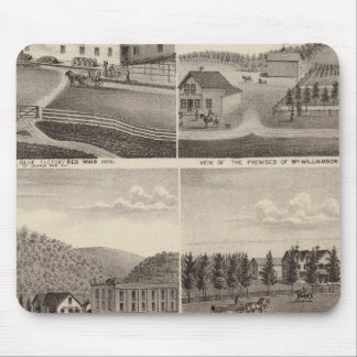 Factory, Stores and Residences, Minnesota Mouse Mat