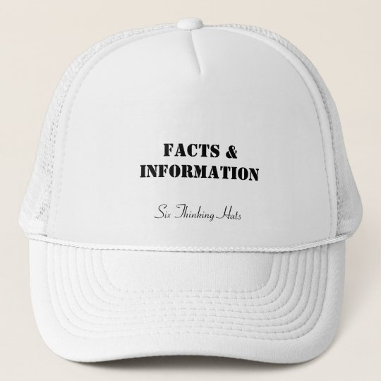 Facts & Information, Six Thinking Hats