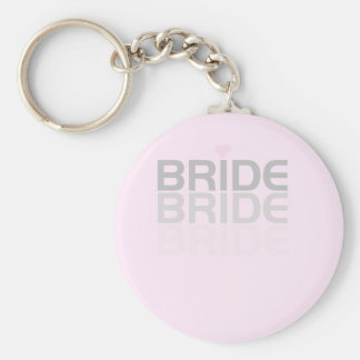 Fade Gray Bride Tshirts and Gifts Key Chains