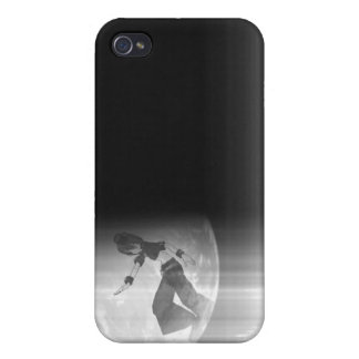 Fade with the moon iPhone 4/4S cover