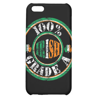 Faded '100% Grade A Irish' Stamp i iPhone 5C Covers