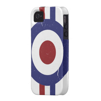 Faded and weathered Mod target iPhone 4/4S Case
