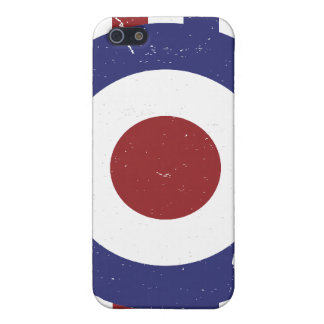 Faded and weathered Mod target iPhone 5 Cover