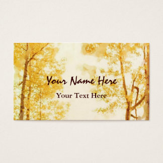 Faded Aspens business card