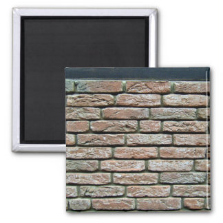 Faded brick texture refrigerator magnets