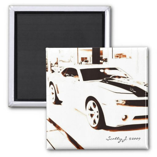 """Faded Camaro"" © 2009 S.J. Magnet"