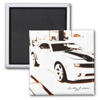 """Faded Camaro"" © 2009 S.J. Square Magnet"