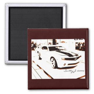 Faded Camaro © copyright 2009 S.J. Fridge Magnets