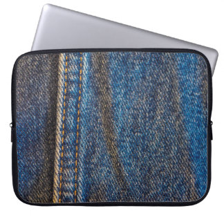Faded Denim Laptop Sleeve