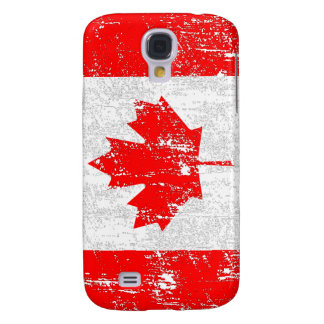 Faded Flag Of Canada Galaxy S4 Case