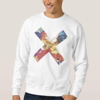 Faded Foral X Sweatshirt By Megaflora