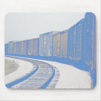 Faded Freight Train Mouse Mat