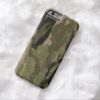 Faded Green Camo Barely There iPhone 6 Case