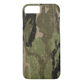 Faded Green Camo iPhone 7 Case