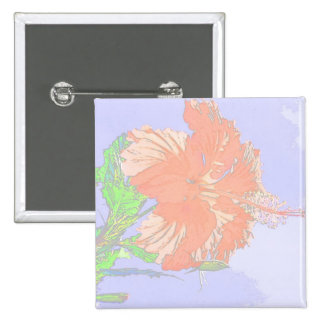 Faded Hibiscus Pin