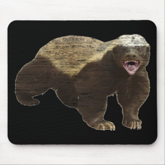 Faded Honey Badger Mouse Pad