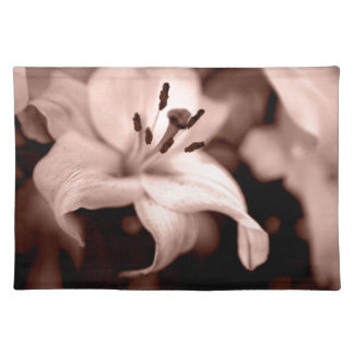 Faded Lily Placemat