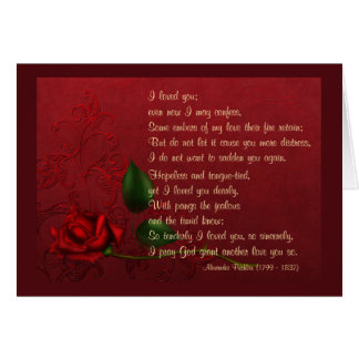 Faded Love Greeting Card