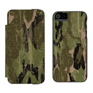 Faded Military Green Camo Incipio Watson™ iPhone 5 Wallet Case