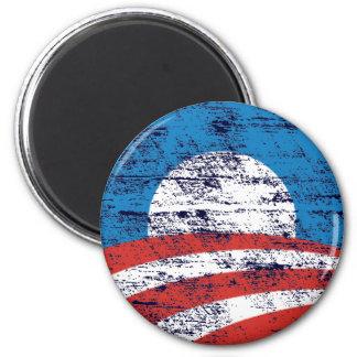 Faded Obama Logo Fridge Magnets