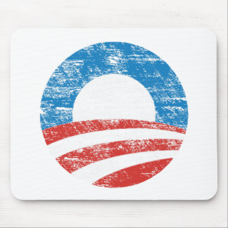 Faded Obama Logo Mouse Pads