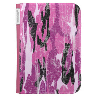 Faded Pink Camo Kindle 3G Cases