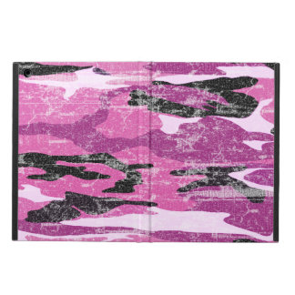 Faded Pink Camo Cover For iPad Air