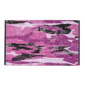 Faded Pink Camo iPad Folio Case