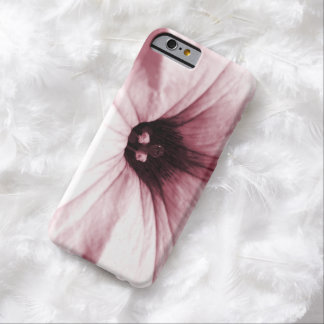 Faded  pink flower macro picture barely there iPhone 6 case