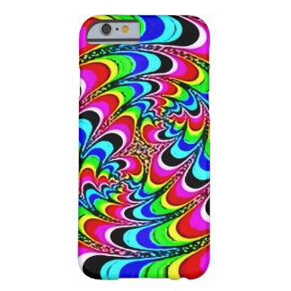 Faded Psychedelic Quantum Rainbow Barely There iPhone 6 Case