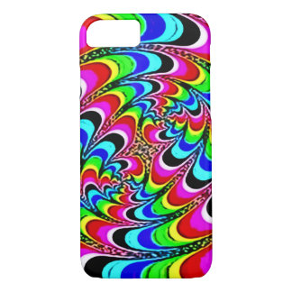 Faded Psychedelic Quantum Rainbow iPhone 7 Case