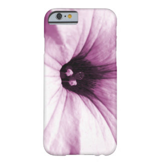 Faded purple flower macro picture barely there iPhone 6 case