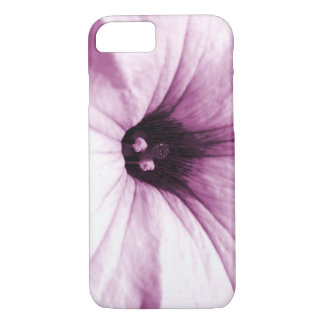 Faded purple flower macro picture iPhone 7 case