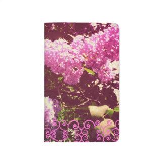 Faded Rainbow Lilacs Journal