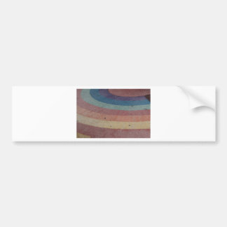 Faded Rainbow Range Bumper Sticker