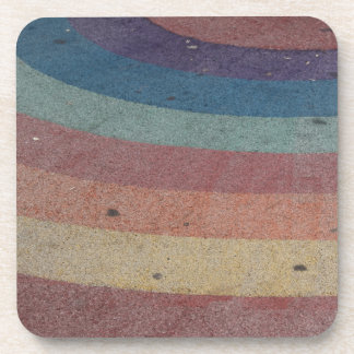 Faded Rainbow Range Coaster