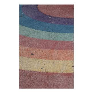 Faded Rainbow Range Custom Stationery