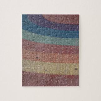 Faded Rainbow Range Jigsaw Puzzle