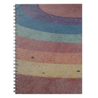 Faded Rainbow Range Notebook