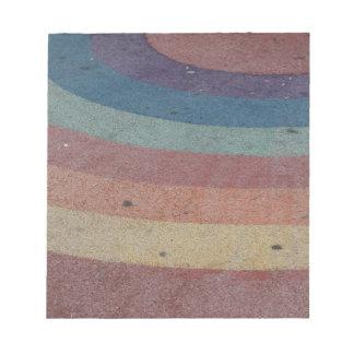 Faded Rainbow Range Notepads