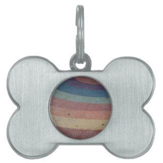 Faded Rainbow Range Pet Tag