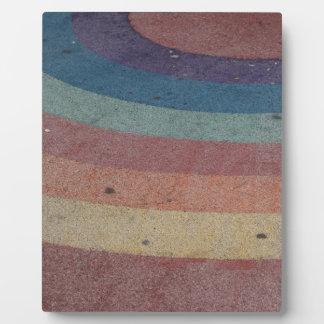 Faded Rainbow Range Plaque
