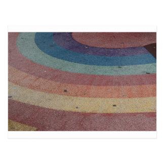 Faded Rainbow Range Postcard