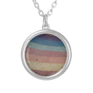 Faded Rainbow Range Silver Plated Necklace