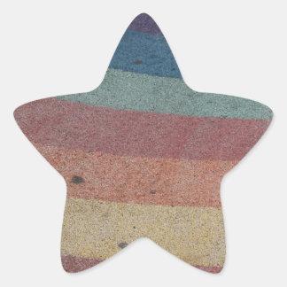 Faded Rainbow Range Star Sticker