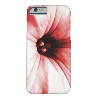 Faded red flower macro picture barely there iPhone 6 case