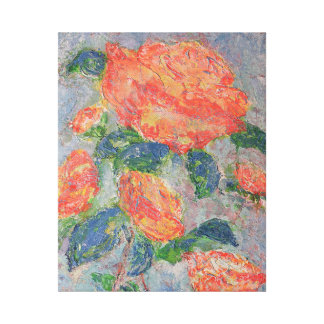 """""""Faded Roses"""" Canvas Print"""