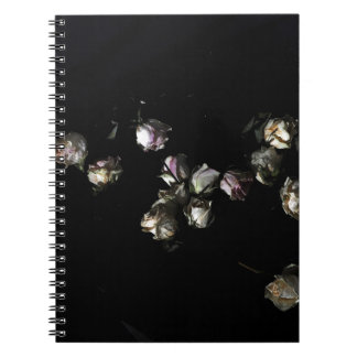 Faded Roses Notebook